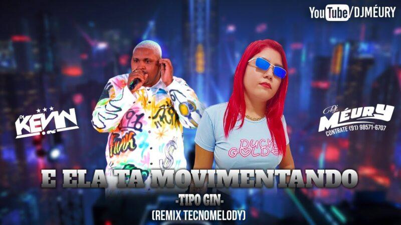 DJ MÉURY- E ELA TÁ MOVIMENTANDO (REMIX TECNOMELODY)
